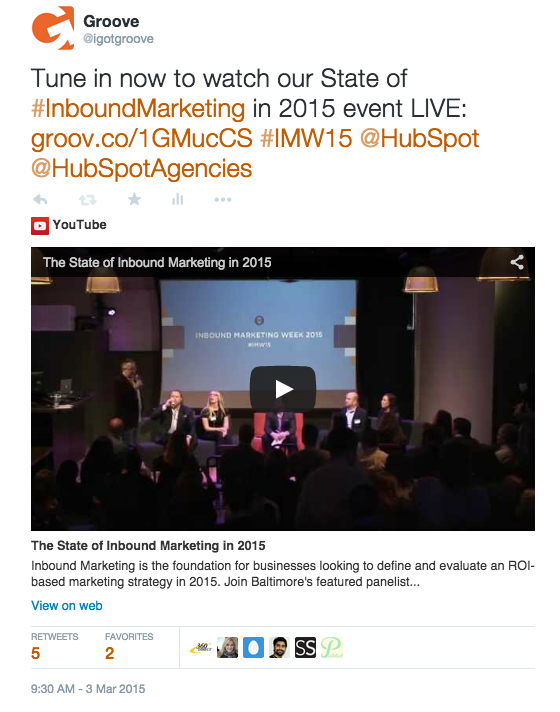 Promoting Events With Inbound Marketing