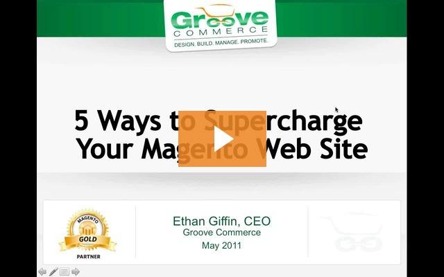 Webinar Recording: 5 Ways to Supercharge your Magento Enterprise Website