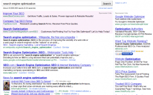 SERP Without Google Instant