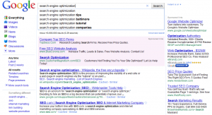 SERP with Google Instant