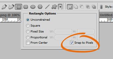 Snap to Pixels
