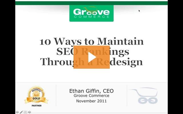 Webinar Recording: 10 Ways to Maintain SEO Rankings Through a Redesign