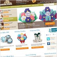 Cookies.com Homepage - Groove Redesign 2011