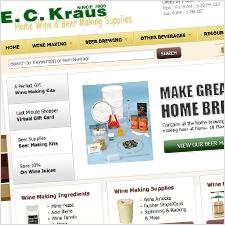 ECKraus.com Homepage - Groove Redesign 2011