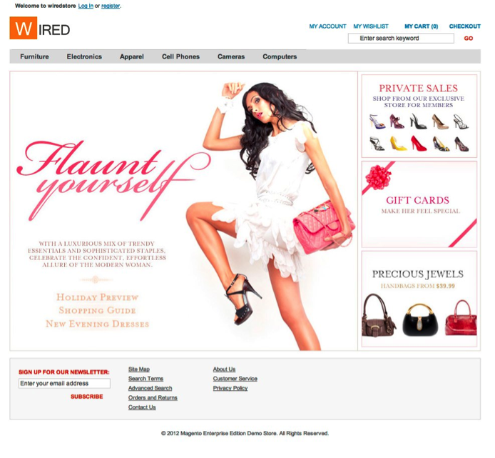Creating A Magento Holiday Theme