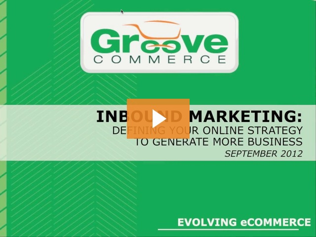Webinar Recording: Inbound Marketing Tips To Generate More Business