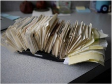 old rolodex