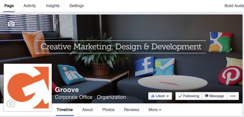Groove's Facebook Banner