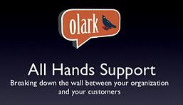 Olark: All Hands Support