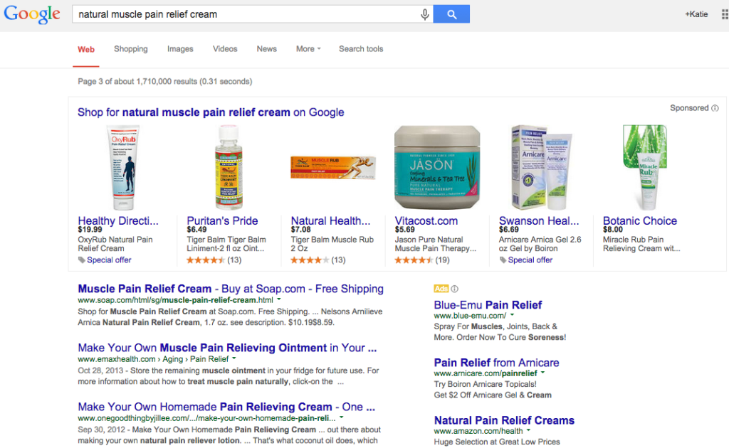 Spotted: Google Shopping SERP Test