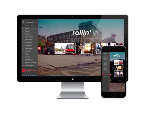 longboard Shopify ecommerce site designs