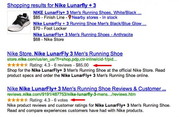 Nike SEO Example