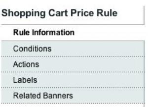 Rule Information