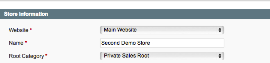 Creating New Store in Magento Admin 2