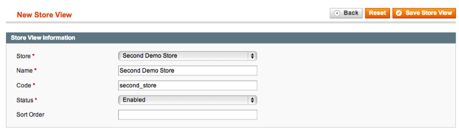 Creating New Store in Magento Admin 3