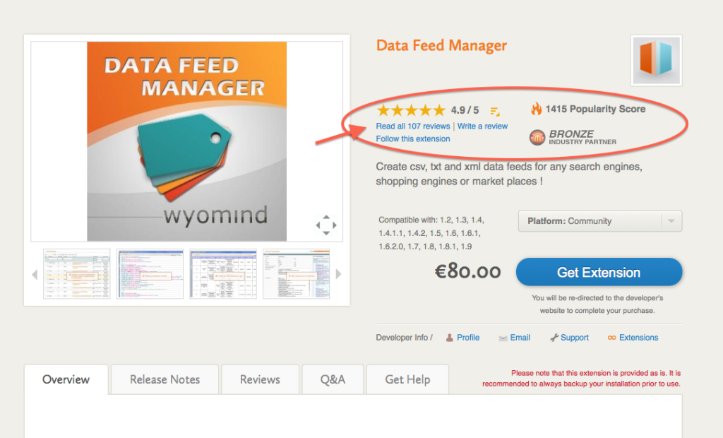 Configuring Wyomind's Data Feed Manager for Magento