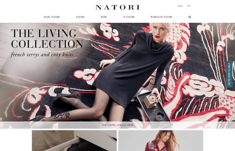 Natori - Built on BigCommerce