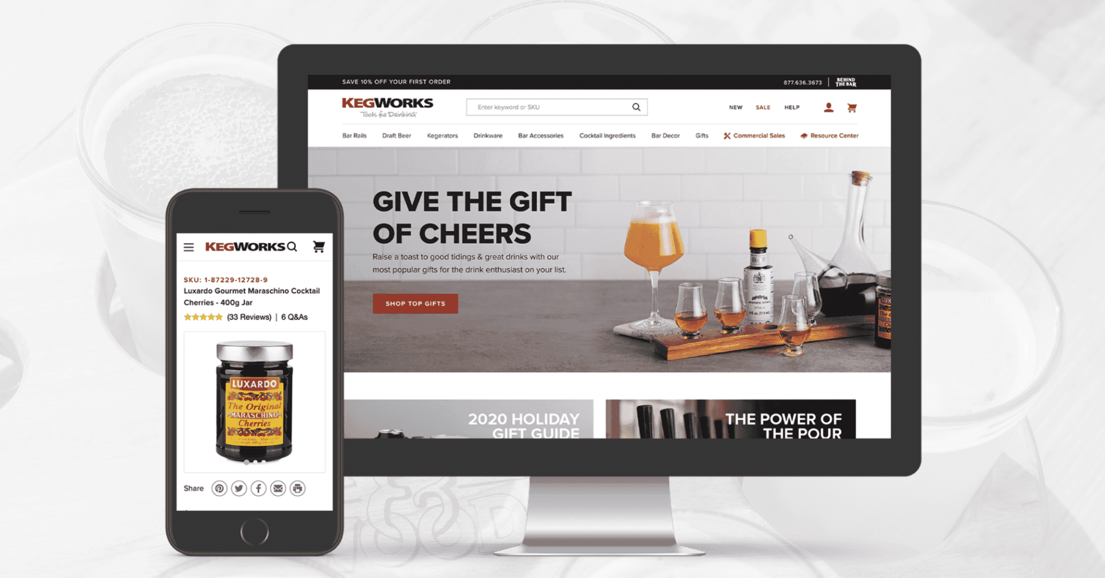 How KegWorks Enhanced Their Website Design With BigCommerce