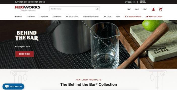 KegWorks' Sub Brand: Behind The Bar
