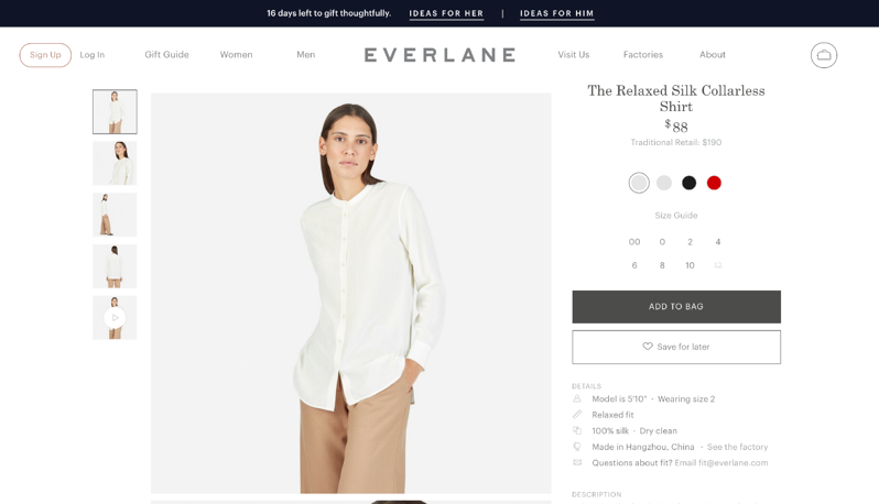 What eCommerce Can Learn From A Brick and Mortar: Everlane