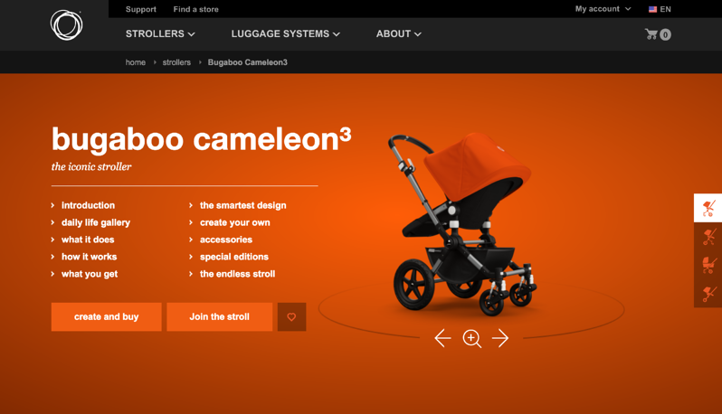 What eCommerce Can Learn From A Brick and Mortar: Bugaboo