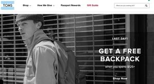 toms website