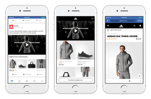 eCommerce Advertising: Facebook Collection Ad