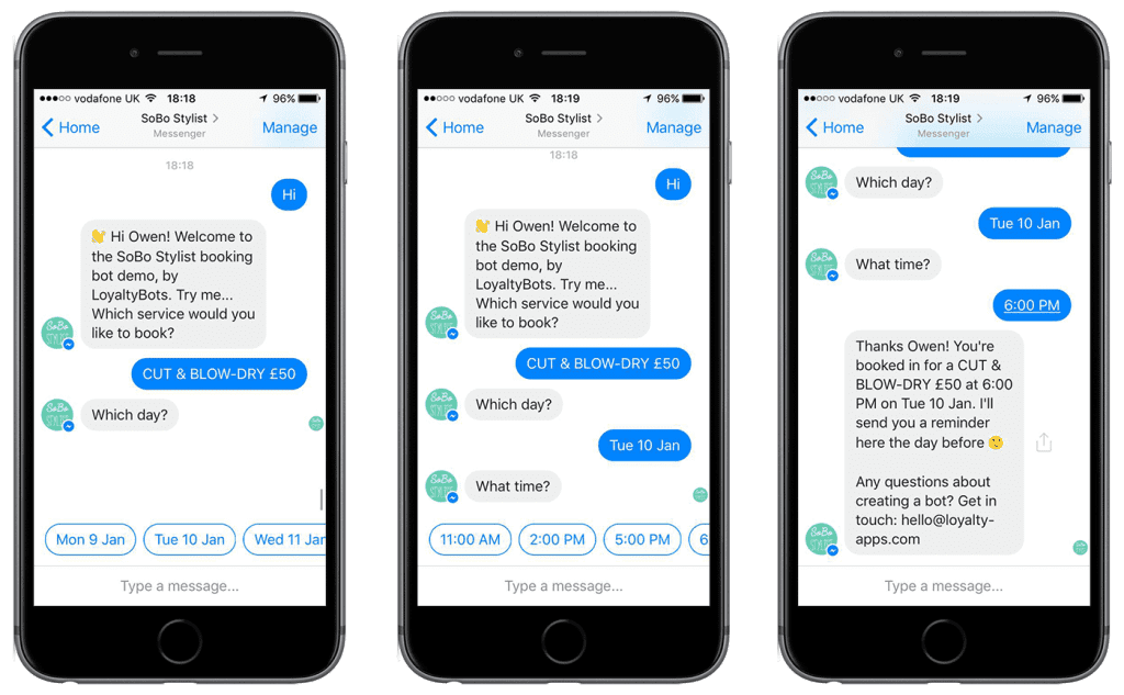 eCommerce Design Trends: Advanced Chatbots