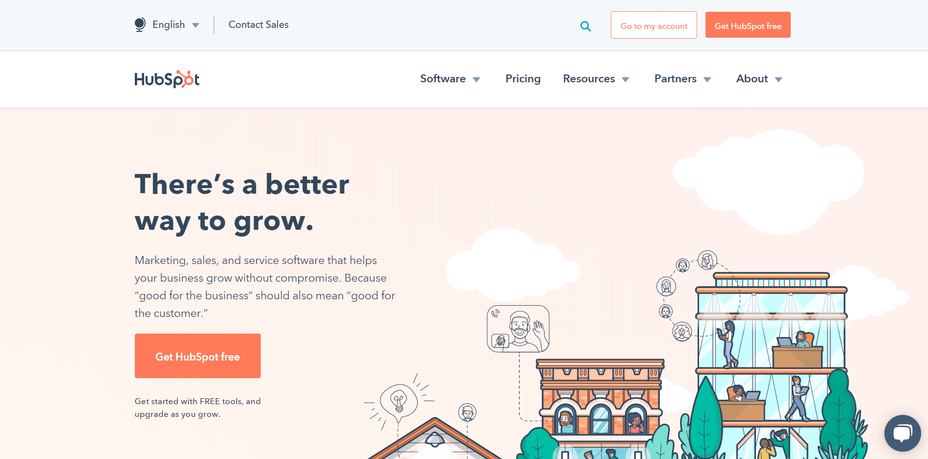 eCommerce Homepage Best Practices: HubSpot's Unique Value Proposition