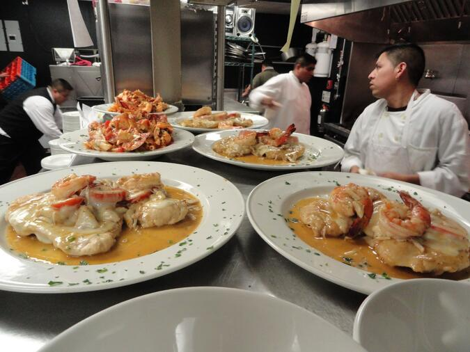 Places To Eat In Baltimore: La Scala