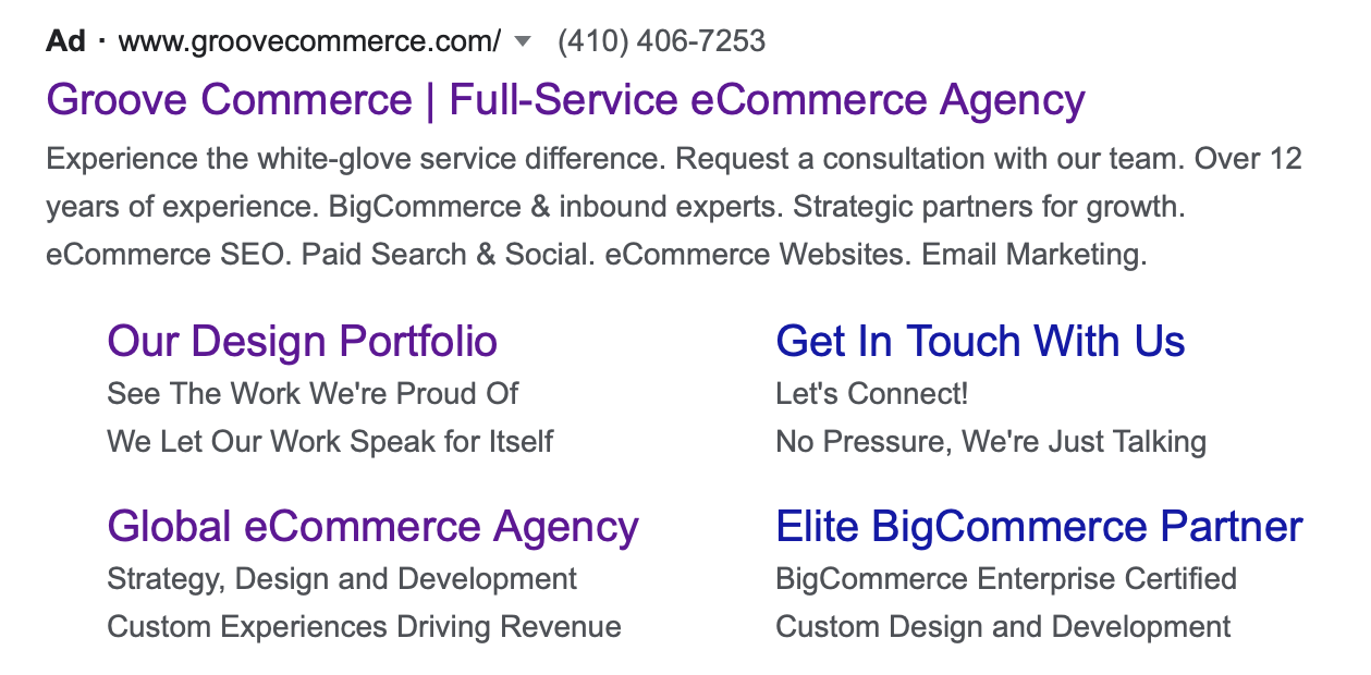 PPC Tips: Groove Commerce's Ad Extensions