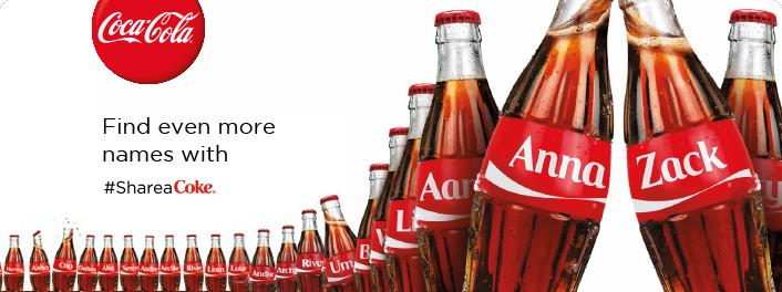 "Social Media Branding Examples: Coca Cola's ""Share A Coke"" Campaign"