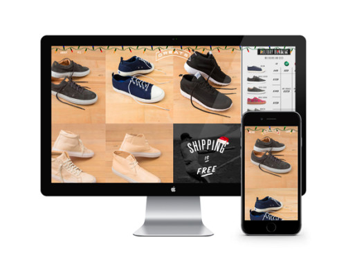 Five Shopify eCommerce Site Designs from 2014