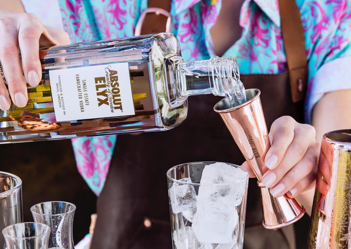 Luxury Vodka Seeks a Luxurious Online Brand Experience