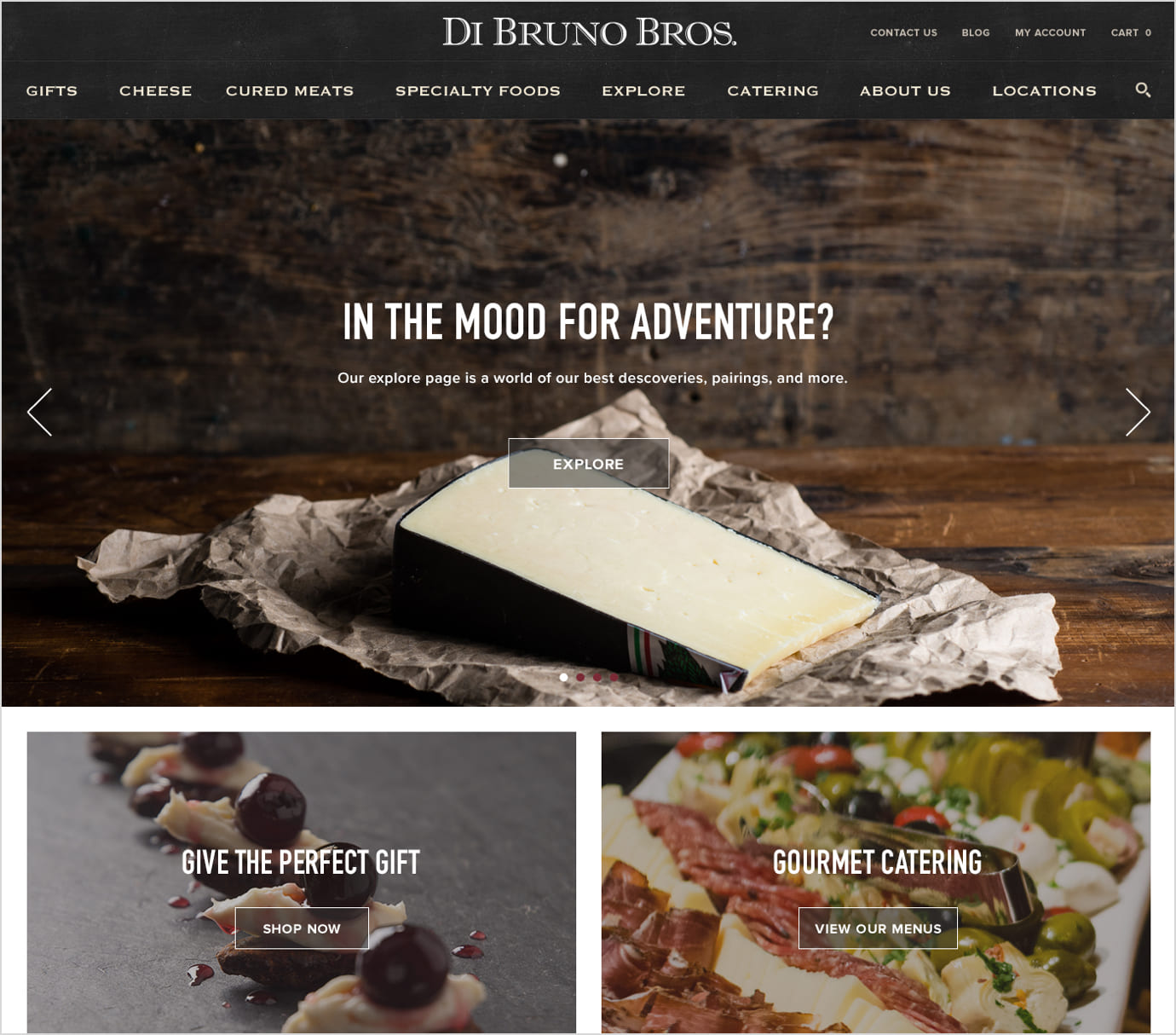 DiBruno Bros BigCommerce Development