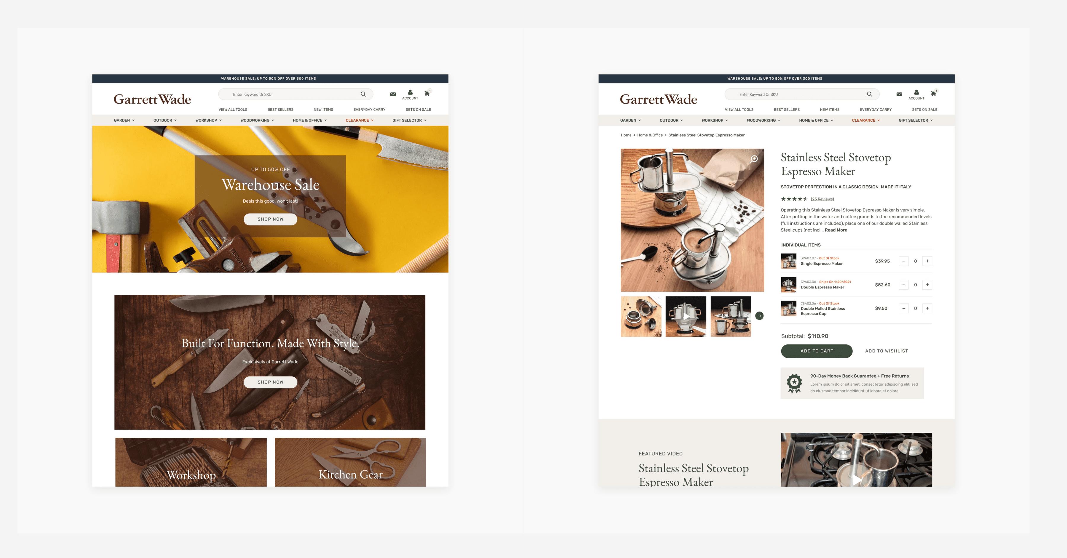 How We Built Garrett Wade's BigCommerce Website