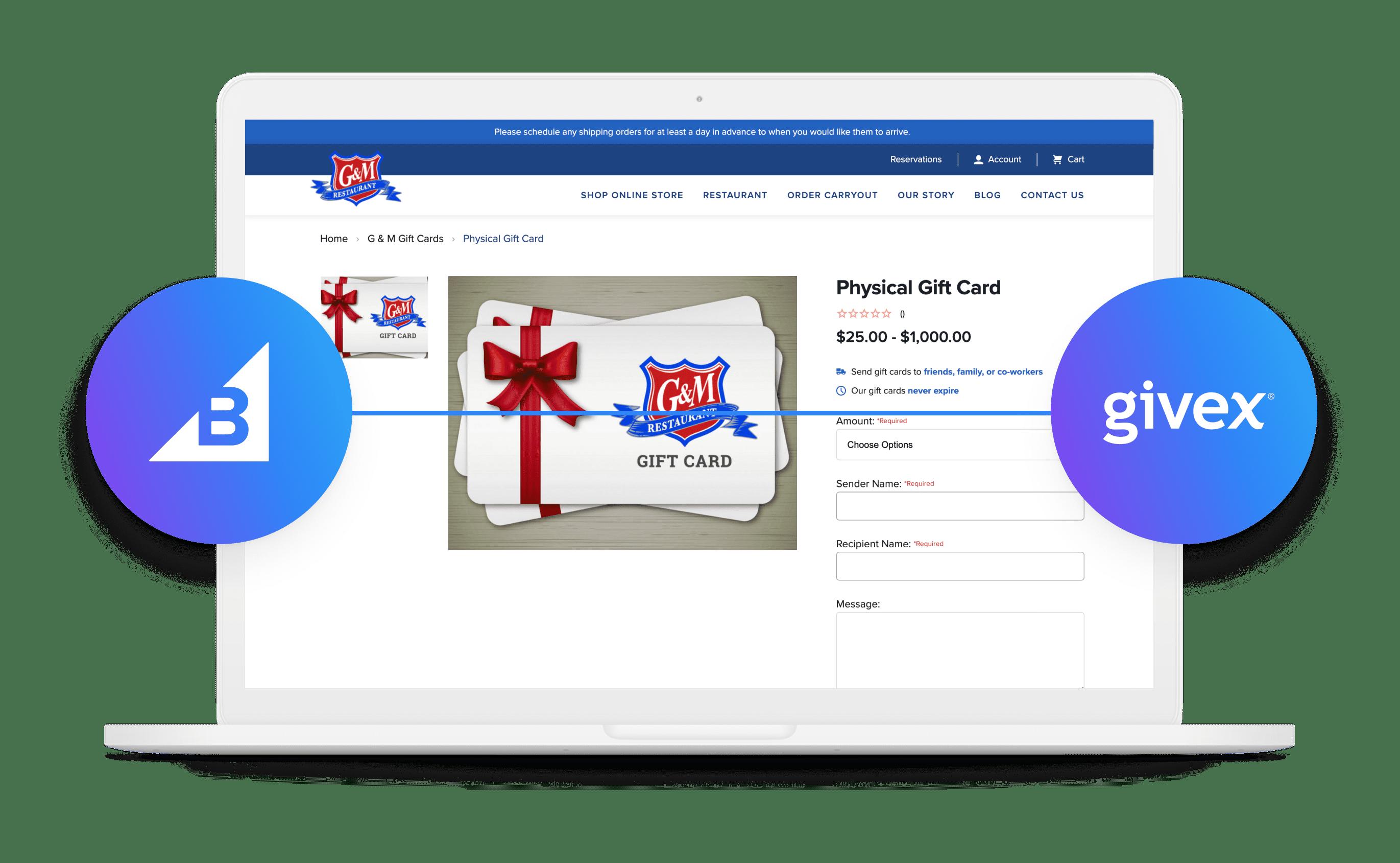 BigCommerce Givex Integration